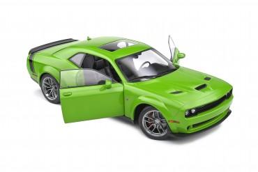 Dodge Challenger grün 1:18 Solido Modellauto R/T Scat Pack Widebody 2020