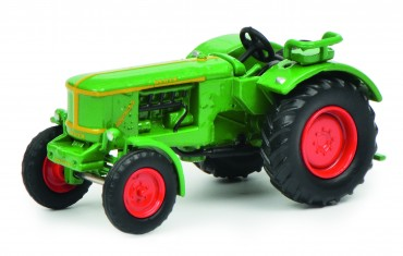 Schuco Deutz F 4 L 514 1:87 grün - Traktor neu - Modell