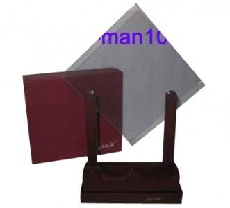 Panru glass -  Karte erscheint in Glasscheiben