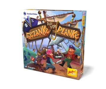 Zoch - Gezanke auf der Planke - Brettspiel ab 6 Jahren - 2-4 Spieler