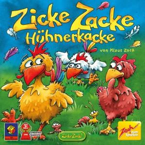 Zicke Zacke Hühnerkacke - Spiel des Jahres 1998 - Kinderspiel
