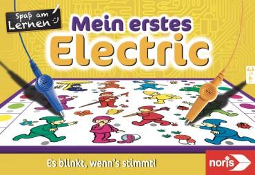 Noris Spiel - Mein erstes Electric - Lernspiel 12 Bildtafeln
