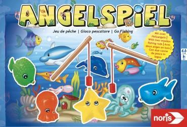 Noris Angelspiel- Kinderspiel Familienspiel Geschicklichkeit ab 2 J