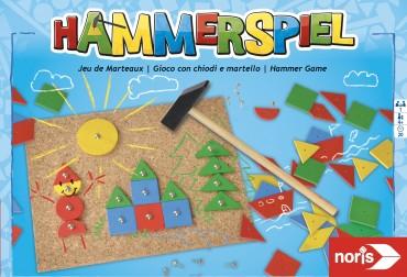 Noris Hammerspiel - Kinderspiel Kreativität und Geschicklichkeit, Motorik