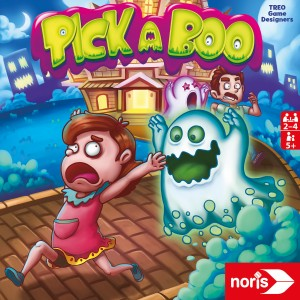 Pick A Boo - Reaktionsspiel 2-4 Spieler ab 5 Jahren Geisterspuk mit Spaß