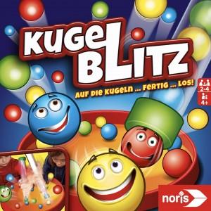 Noris Spiel - Kugelblitz - Kinder Gesellschaftsspiele Geschicklichkeitsspiele