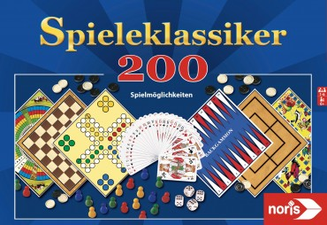 Noris Spielesammlung 200 Spielmöglichkeiten, Spieleklassiker, Gesellschaftsspiel