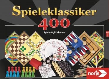 Noris Spielesammlung 400 Spielmöglichkeiten, Spieleklassiker, Gesellschaftsspiel