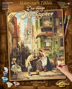 Malen nach Zahlen - Der ewige Hochzeiter - Schipper - Meisterklasse Premium