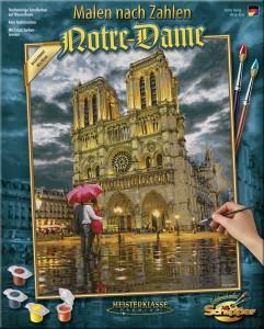 Malen nach Zahlen - Notre Dame - Schipper - Meisterklasse Premium