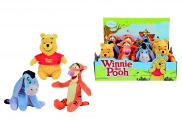 Simba Disney WTP Winnie Puuh - Kuscheltier 20 cm  Winnie, I-Aah, Tigger