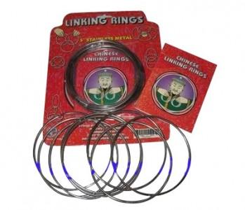 linking rings - ein Klassiker - Zaubertrick mit 8 Ringen