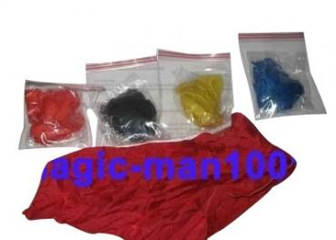 Zaubertrick: Seil zu Taschentuch