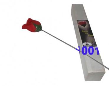 Zaubertrick: Fackel zu Rose