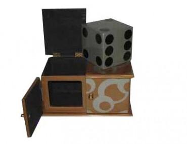 Würfel Schachtel - Riesen-Würfel verschwindet - 2.Wahl - reduziert