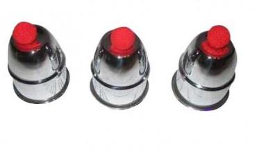 Bechertrick Aluminium - Bälle und Becher Tricks