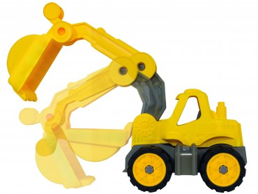 BIG Power-Worker Mini Bagger  Spielzeug Sandkasten Strand indoor