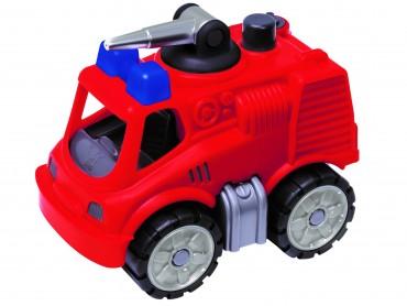 BIG Power-Worker Mini Feuerwehr- Feuerwehrauto mit  Wasserspritze Kinder Spielzeug