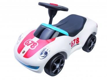 Baby Porsche Premium weiß - BIG Auto ab 1,5 Jahren -