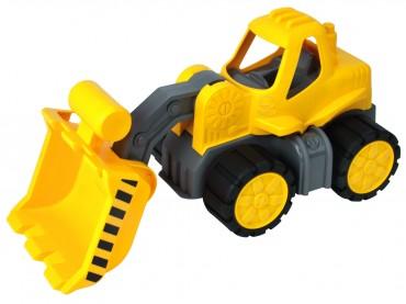BIG Power-Worker Radlader - Laster Spielzeug  Sandkasten Strand Raupe