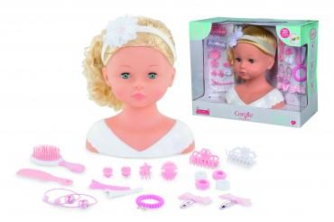 Simba Corolle LTC Hair Stylingkopf Princess of Flowers - Frisierkopf