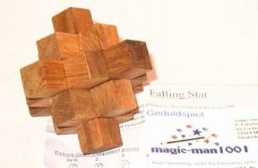 Der fallende Stern - Holzpuzzle