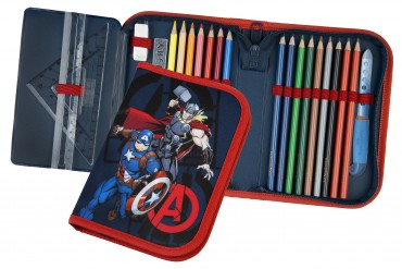 Avengers Gefülltes Schüleretui - Federmäppchen Marvel Superhelden