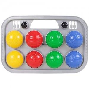 Simba Boccia Spiel im Tragekorb - Outdoor Spiel Ballspiel