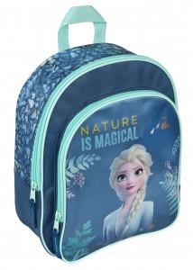 Disney Frozen 2 Eiskönigin  Rucksack mit Vortasche - Kinderrucksack  Els