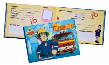 Feuerwehrmann Sam Fireman Sam Freundebuch - Feundschaftsbuch Tagebuch