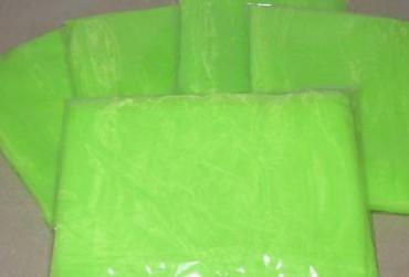 3 Jongliertücher 70 x 70 cm neon