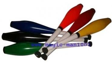 Jonglierkeulen Mister Babache, Flip Color