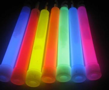 25 Knicklichter 15 * 150 mm Farbenmix