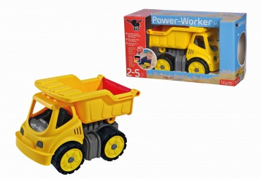 BIG Power-Worker Mini Kipper - Laster Spielzeug outdoor Sandkasten Strand