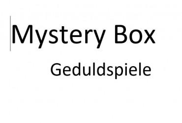 Mystery Box Geduldspiele - Überraschungspaket - Abendgestaltung
