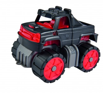 BIG Power-Worker Mini Monstertruck - Truck Spielzeug outdoor Sandkasten Strand