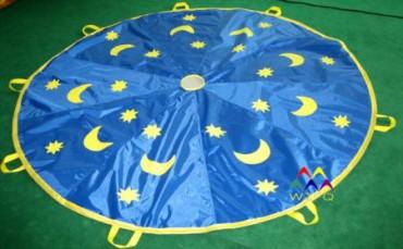 Schwungtuch 3,00 m Sternenhimmel Schwungtücher Sternenhimmel mit Tasche