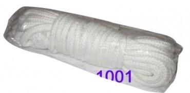 Zauberseil, 8 m, 10 mm, weiss, Baumwolle