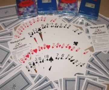 gezinkte Karten - magic Secret Marked Cards