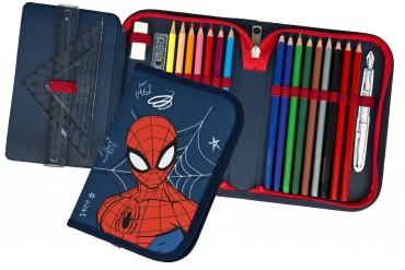 Spiderman Gefülltes Schüleretui - Federmäppchen Superheld
