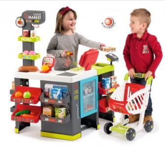 Smoby Maxi Supermarkt mit Einkaufswagen - Maimarkt Kaufladen  ab 3 J.