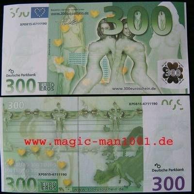300 euro schein knicklichter zaubertricks jongliert cher