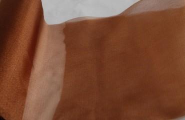 Organza braun 35 cm x 20 m